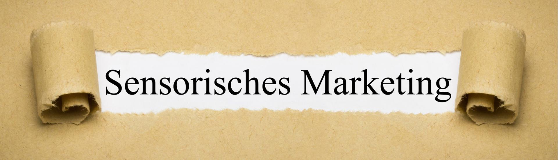 Sensorisches Marketing